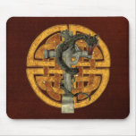 Dragon Cross Mouse Pad