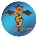 Dragon - Cross Plate