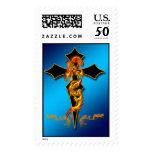 Dragon - Cross Postage