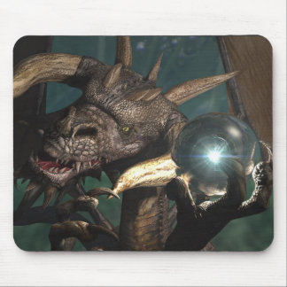 Dragon Crystal Mouse Pad