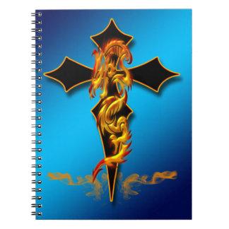 Dragón - cuaderno cruzado