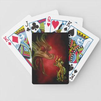 Dragon Dancer Bicycle Playing Cards