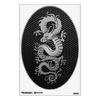 Dragón de acero del chino de la malla