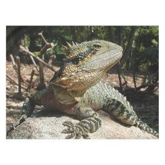 Dragón de agua australiano manteles