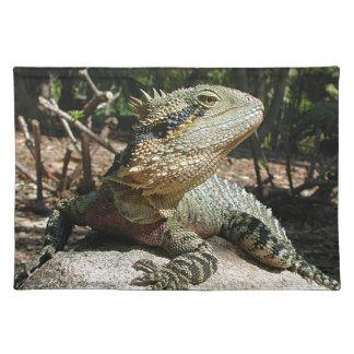 Dragón de agua australiano manteles individuales