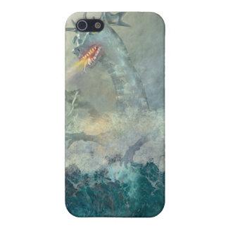 Dragón de agua chino iPhone 5 protector