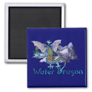 Dragón de agua imanes