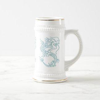 Dragón de agua jarra de cerveza
