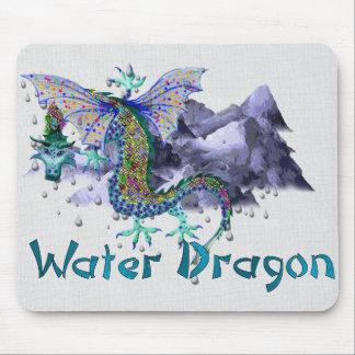 Dragón de agua tapete de ratones