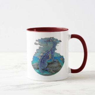 Dragón de agua taza