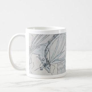 Dragón de agua taza de café