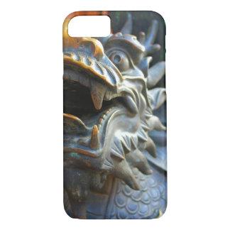 Dragón de bronce - China - caso del iPhone 7 Funda iPhone 7