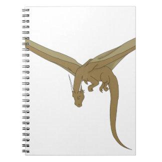 Dragón de bronce libreta