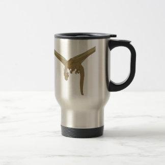 Dragón de bronce taza de viaje