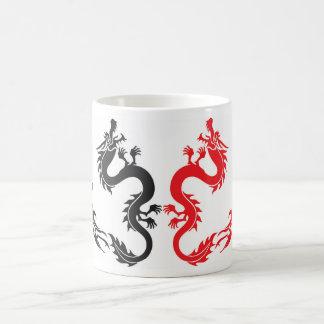 Dragón de Caneca Taza Clásica