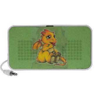 Dragón de Chibi iPod Altavoces