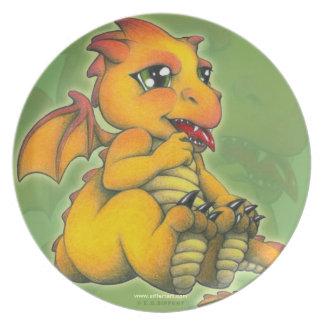 Dragón de Chibi Plato