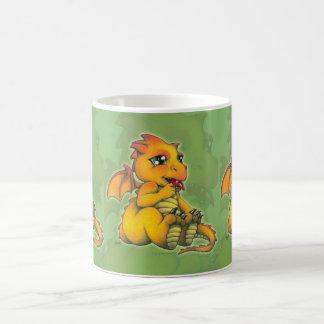 Dragón de Chibi Taza De Café