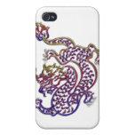 dragón de China iPhone 4 Cárcasas