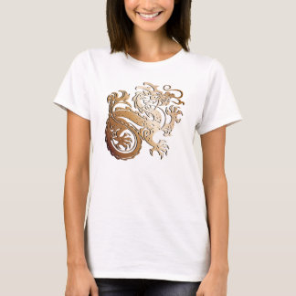 Dragón de cobre - camiseta 2