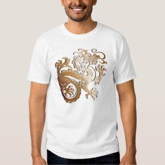 Dragón de cobre - camiseta polera