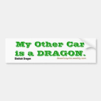 Dragón de Dinétah el otro coche Pegatina Para Auto