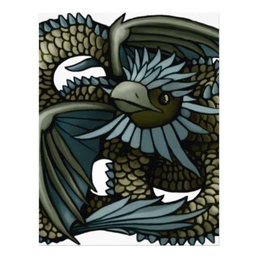Dragón de Eagle Membretes Personalizados