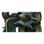 Dragón de Eagle Tarjeta Fotográfica Personalizada