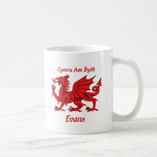 Dragón de Evans Galés Taza