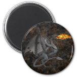 Dragón de Fuego-Respiración Imán