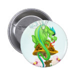 Dragón de hadas en Toadstool Pin