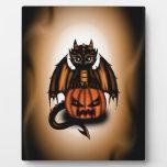 Dragón de Halloween Placa Para Mostrar