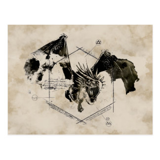 Dragón de Horntail del húngaro Tarjeta Postal