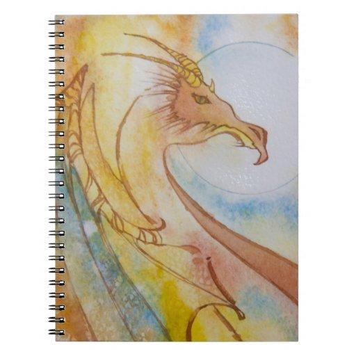Dragón de Jasperwing Libros De Apuntes Con Espiral
