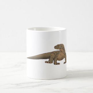 Dragón de Komodo/lagarto de monitor realistas Taza De Café