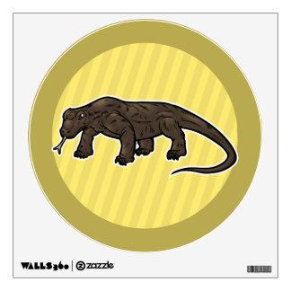 Dragón de Komodo Vinilo Decorativo