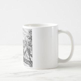 Dragón de la alquimia taza de café