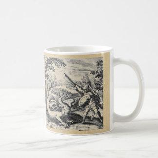 Dragón de la alquimia tazas