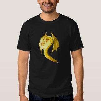 Dragón de la barra del plátano remeras