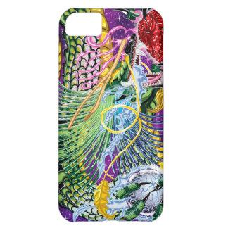 Dragón de la caja color de rosa del iPhone 5