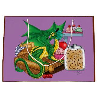 Dragón de la cocina bolsa de regalo grande