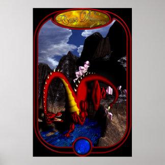 Dragón de la cueva posters