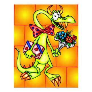 """Dragón de la datación folleto 8.5"""" x 11"""""""