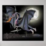 Dragón de la fantasía poster
