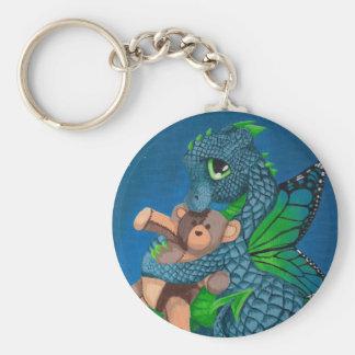 Dragón de la hada del bebé llaveros personalizados