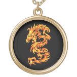 Dragón de la llama joyeria