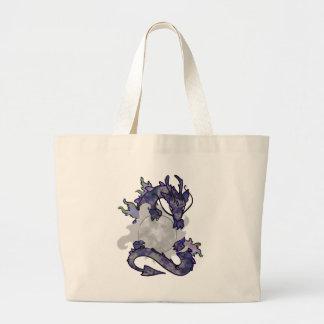 Dragón de la luna bolsa de mano