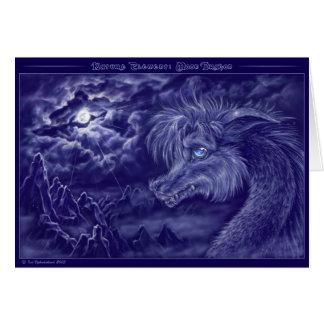 Dragón de la luna - tarjeta