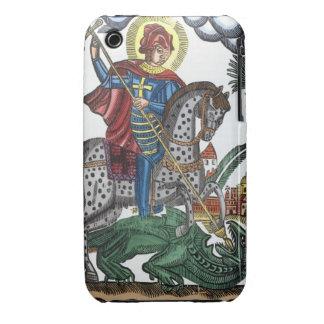 Dragón de la matanza de San Jorge iPhone 3 Case-Mate Carcasa