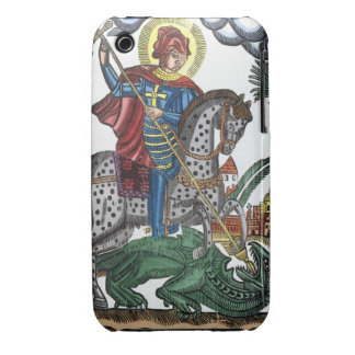 Dragón de la matanza de San Jorge iPhone 3 Carcasa